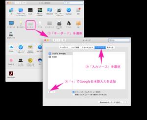 Google日本語入力の有効化